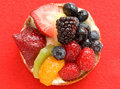 Gourmet Fruit Tart Royalty Free Stock Image