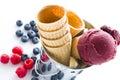 Gourmet gelato Royalty Free Stock Photo