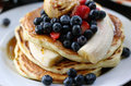 Gourmet Pancakes Royalty Free Stock Images