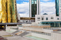 Government Buildings In Astana Royalty Free Stock Photos