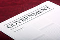 Government document