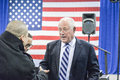 """Governor of illinois pat quinn chicago usa th tuesday october told the crowd that """"illinois is obama country and always Royalty Free Stock Image"""