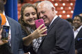 """Governor of illinois pat quinn chicago usa th tuesday october told the crowd that """"illinois is obama country and always Royalty Free Stock Images"""