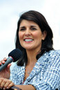 Governor Nikki Haley Stock Images