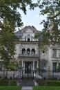 Governor`s Mansion in Salt Lake City, Utah Royalty Free Stock Photo