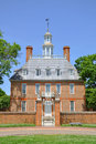 Governor's Palace, Williamsburg Royalty Free Stock Photo