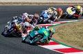 GP CATALUNYA MOTOGP. MOTO 3 RACE Royalty Free Stock Photo