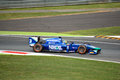 Gp series formula driven by julián leal at monza carlin motorsport team during free practice session in occasion of the italian Royalty Free Stock Photo