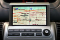 GPS Car Naviagion Royalty Free Stock Image