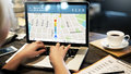 GPS Navigation Directions Location Map Concept Royalty Free Stock Photo
