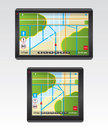 GPS Navigation illustration Stock Images