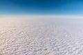 Göra perfekt moln från himlen Arkivbild