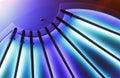 Göra sammandrag taklampor Arkivfoto