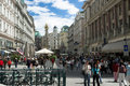 Graben Street, Vienna Stock Photo