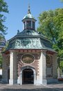 Grace chapel kevelaer lower rhine germany the famous of region Stock Photography