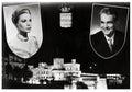 Grace Kelly and Rainier III Royalty Free Stock Photo