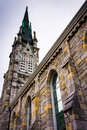 Grace United Methodist Church in Harrisburg, Pennsylvania. Royalty Free Stock Photo