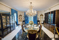 Graceland Formal Dining Room Royalty Free Stock Photo