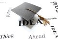 Grad idea Stock Image