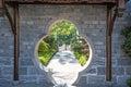 Graden gate this photo was taken in laomendong scenic spot nanjing city jiangsu province china Stock Images