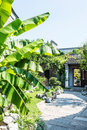 Graden this photo was taken in laomendong scenic spot nanjing city jiangsu province china Royalty Free Stock Image