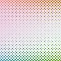 Gradient abstract heart pattern background - vector graphic design from hearts