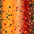 Gradient square pattern. Seamless vector glowing background Royalty Free Stock Photo