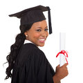 Graduate closeup portrait attractive college Royalty Free Stock Photography