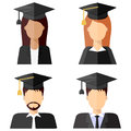 Graduate students avatars, set 2