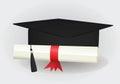 Graduated cap