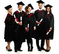 Graduated young students Royalty Free Stock Photo