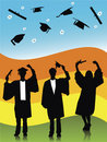 GRADUATES Royalty Free Stock Image