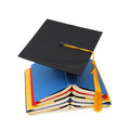A graduating degree in school class Royalty Free Stock Photo