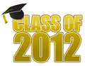 Graduation  2012 Royalty Free Stock Photos