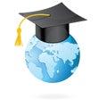 The Graduation Cap And Globe I...