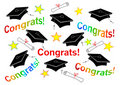 Graduation Caps and Congrats