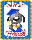 Graduation greeting Stock Photo