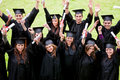Graduation group Royalty Free Stock Photography