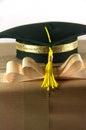 Graduation hat Royalty Free Stock Photo