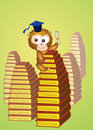 Graduation, monkey Royalty Free Stock Photo