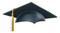 Graduation mortar board hat or cap