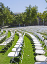Graduation seating Royalty Free Stock Images