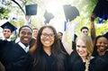 Graduation Student Commencement University Degree Concept Royalty Free Stock Photo