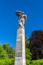 Graf zeppelin statue in konstanz germany Stock Images