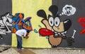 Graffiti Art in Sao Paulo, Brazil Royalty Free Stock Photo