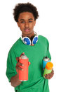 Graffiti boy Royalty Free Stock Image