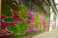 Graffiti Culture on 798 abandon Factory Royalty Free Stock Photo