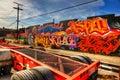 Graffiti East Los Angeles Royalty Free Stock Photo