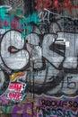 Graffiti Gate Royalty Free Stock Photo