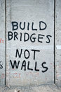 Graffiti on Israeli Separation Barrier Royalty Free Stock Photo